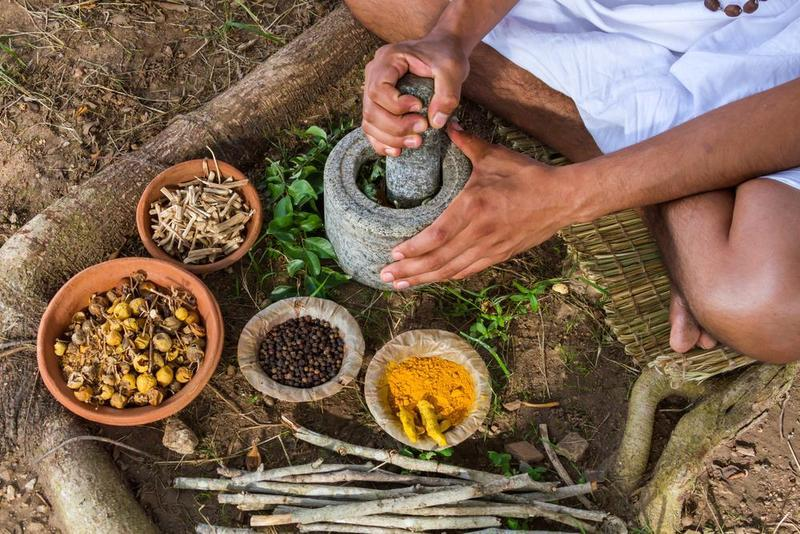 Indian Traditional Ayurvedic System of Medicine and Nutritional Supplementation
